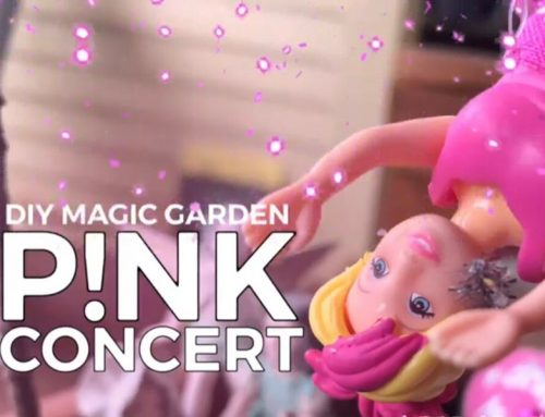 Get The Yard Party Started Pink Concert Magic Garden