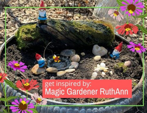Kids Garden Inspiration Magic Gardener RuthAnn